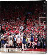Draymond Green and Kyle Lowry Canvas Print