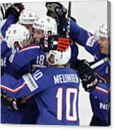 Finland v France - 2017 IIHF Ice Hockey World Championship Canvas Print