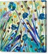 Flax Maturing Canvas Print