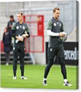 Germany - Training & Press Conference Canvas Print