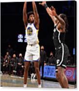 Golden State Warriors v Brooklyn Nets Canvas Print