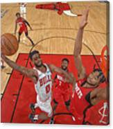 Houston Rockets v Chicago Bulls Canvas Print