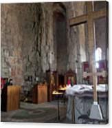 Inside the Jvari Church, Mtskheta Canvas Print