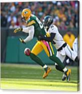 Jacksonville Jaguars v Green Bay Packers Canvas Print