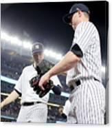 Kansas City Royals v New York Yankees Canvas Print