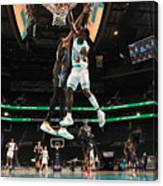 Kevin Durant and Terry Rozier Canvas Print
