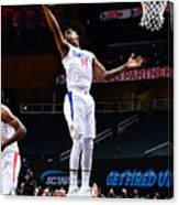 LA Clippers v Atlanta Hawks Canvas Print