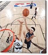 LA Clippers v Dallas Mavericks - Game Four Canvas Print