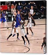 LA Clippers v Dallas Mavericks - Game Three Canvas Print