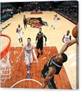 LA Clippers v Memphis Grizzlies Canvas Print