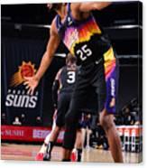 LA Clippers v Phoenix Suns Canvas Print