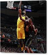 Lance Stephenson Canvas Print