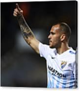 Malaga CF v Real Sociedad de Futbol - La Liga Canvas Print