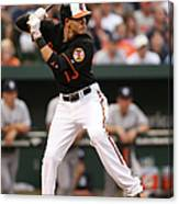 Manny Machado Canvas Print