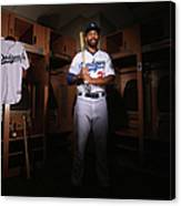 Matt Kemp Canvas Print