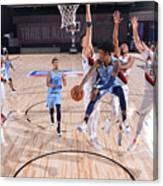 Memphis Grizzlies v Portland Trail Blazers Canvas Print