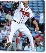 Mike Minor Canvas Print