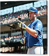 Mike Moustakas Canvas Print