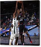 Milwaukee Bucks v Philadelphia 76ers Canvas Print