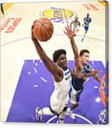 Minnesota Timberwolves v LA Lakers Canvas Print