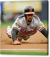 Nick Markakis Canvas Print