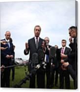 Nigel Farage Resigns As Leader Of UKIP Canvas Print