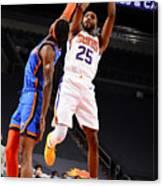 Oklahoma City Thunder v Phoenix Suns Canvas Print