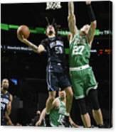 Orlando Magic v Boston Celtics Canvas Print
