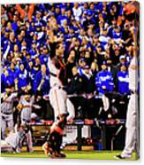 Pablo Sandoval, Madison Bumgarner, and Buster Posey Canvas Print