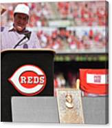 Pete Rose Canvas Print