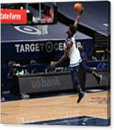 Phoenix Suns v Minnesota Timberwolves Canvas Print