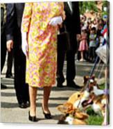 Queen Elizabeth II Visits Canada - Day 6 Canvas Print