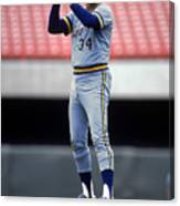 Rollie Fingers Canvas Print