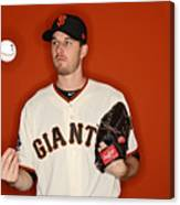 San Francisco Giants Photo Day Canvas Print