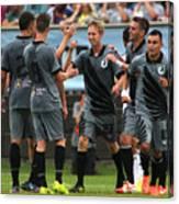 Swansea City v Minnesota United FC Canvas Print