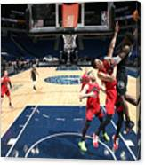 Toronto Raptors v Minnesota Timberwolves Canvas Print