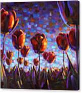 Tulips at Dawn Canvas Print