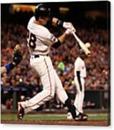 Buster Posey Canvas Print
