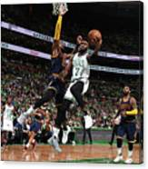Jaylen Brown Canvas Print