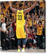 Myles Turner Canvas Print