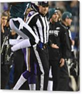 NFL: JAN 21 NFC Championship Game - Vikings at Eagles Canvas Print