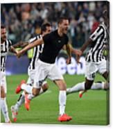 Juventus v Atalanta BC - Serie A Canvas Print