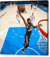 San Antonio Spurs v Oklahoma City Thunder Canvas Print