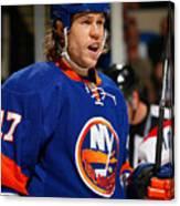 Montreal Canadiens v New York Islanders Canvas Print