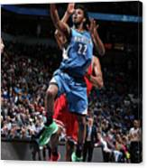Andrew Wiggins Canvas Print