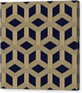 Seamless Geometric Pattern Canvas Print
