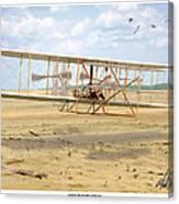 1903 Wright Flyer Canvas Print