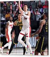 2020 NBA Finals - Miami Heat v Los Angeles Lakers Canvas Print