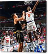 2021 NBA Playoffs - New York Knicks v Atlanta Hawks Canvas Print