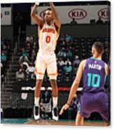 Atlanta Hawks v Charlotte Hornets Canvas Print
